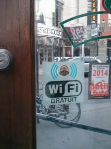 Free WiFi (Montréal)